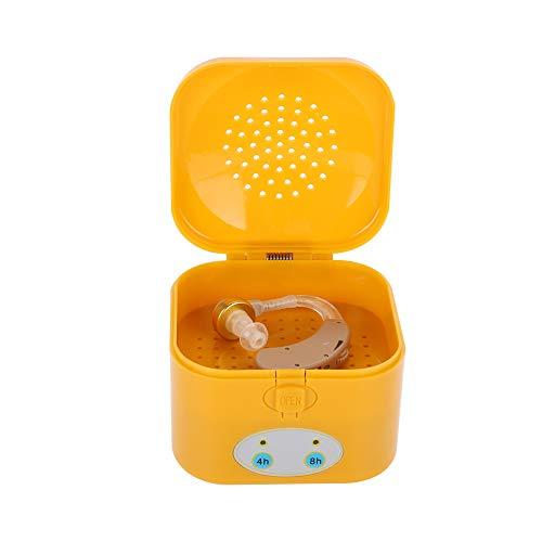 Wytino Secador de audífonos, Temporizador de 4/8 Horas Secador de audífonos Secado eléctrico Estuche de audífonos Deshumidificador
