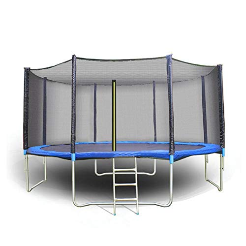 perfecti Trampoline Replacement Enclosure Safety Nets 6ft 8ft 10ft 12ft 13ft 14ft 15ft 16ft Trampoline Protective Net 6-12 Poles UV-resistant Trampoline Accessoire Safety Netting, Net Only