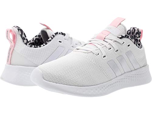 adidas Puremotion Shoes White/White/Clear Pink 6.5 B (M)