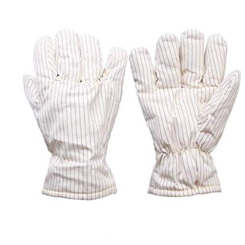 ZFZ Hochtemperaturbeständige Handschuhe 300 ° Insulated und antistatisch, verwendet in Reinraum Reinraum, 26cm / 40cm (Größe, 40cm),26cm