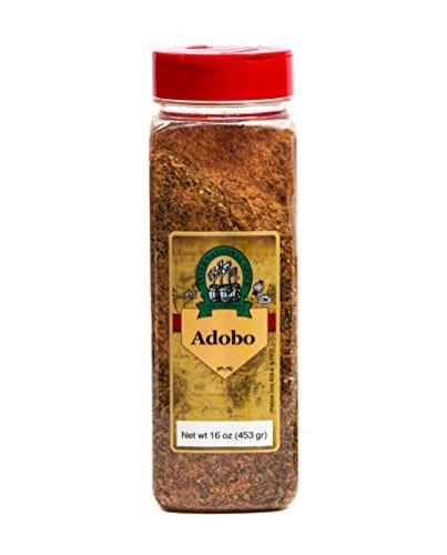 International Spice Premium Gourmet Spices- ADOBO SEASONING -16 oz
