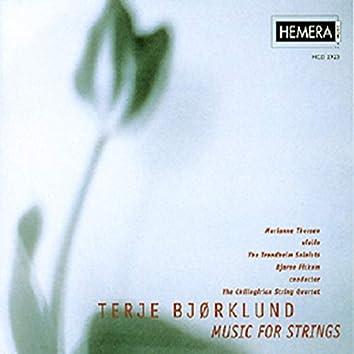Terje Bjørklund: Music for Strings