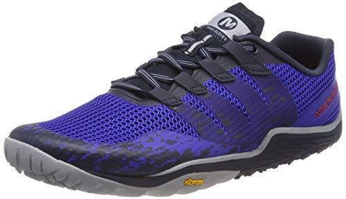 Merrell Trail Glove 5, Zapatillas Deportivas para Interior para Hombre, Multicolor (Surf The Web), 42 EU