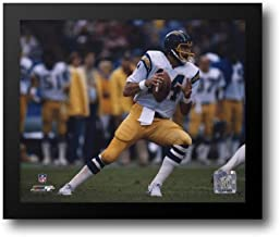 Dan Fouts - Action 14x12 Framed Art Print