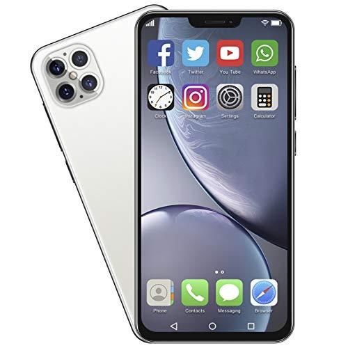 Jinyi Teléfono móvil, 1RAM + 8GROM Teléfono Inteligente Tarjeta Dual Reconocimiento Facial de Doble Modo de Espera con(European regulations)
