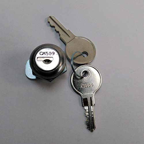 003-CH509CYLINDER Trail FX Toolbox Replacement Lock Cylinder & Key for CH509