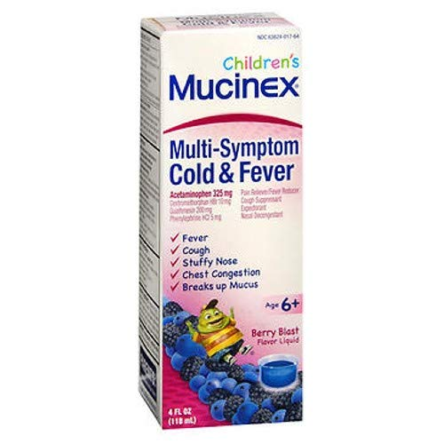 Cough, Cold, and Fever, Mucinex ...