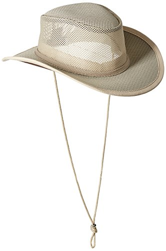 Stetson Men's Mesh Covered Hat, Clay, Large