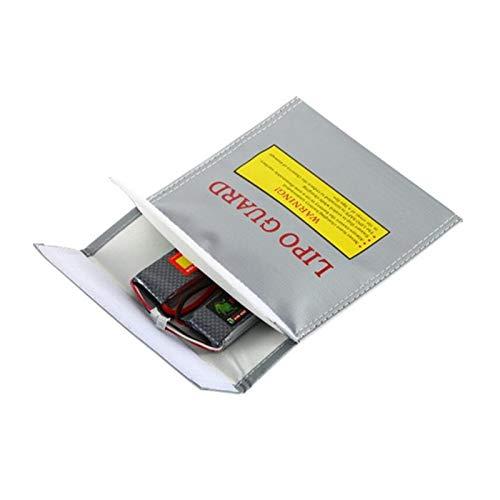 SHUGJAN 180x230x60mm prueba de fuego a prueba de explosiones Bolsa de seguridad for RC aviones no tripulados Avión Lipo baterías de carga/tienda GNB Tattu ZOP Infinity Piezas de montaje RC