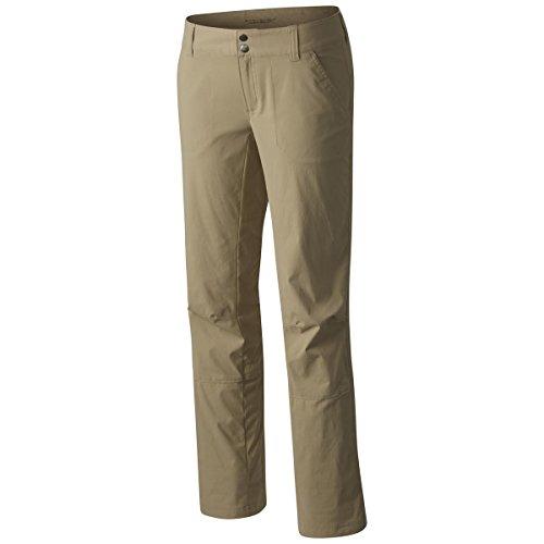 Columbia Saturday Trail Pant-20w British Tan Athletic-Pantalones, Bronceado británico, 20 Short - Plus para Mujer