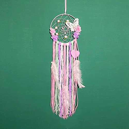SPNEC Hecho a Mano Dream Catcher Net Bardefly Tassel Wind Thime Wall Ornament Dream Catcher Bell Home Decoracion