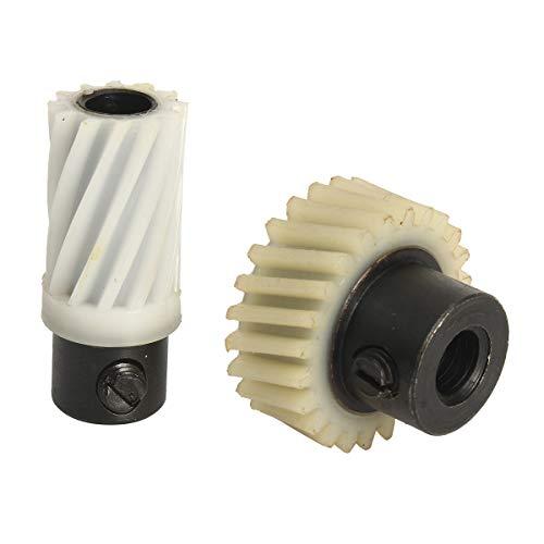 Tutoy Set Albero Motore di Avanzamento Modello Gear per Singer 502 507 509 513 514 518 522 527 533 534 538 543 560