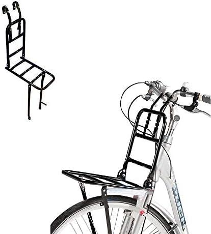 Gepäckträger Fahrrad Hollandrad Vorne Träger Schwarz Omafiets Lenkermontage