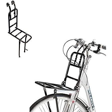 Gepäckträger Fahrrad Hollandrad Vorne Träger Schwarz Omafiets Lenkermontage Sport Freizeit