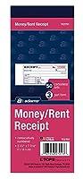Adams Money/Rent Receipt Book、カーボンレス、3部、2–3/4x 7–3/16インチ、50セットあたりBook (tc2701) 3- Pack