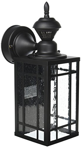 Heath Zenith HZ-4152-BK Shaker Poiont Mission 150 Degree Motion-Activated Light, 8.28x 6.13x 6.13