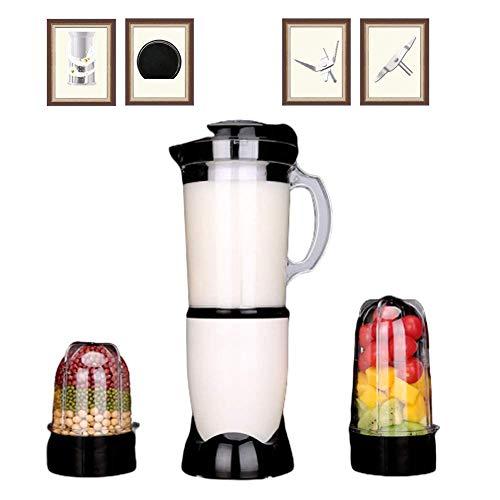 Qinmo Máquinas exprimidor, Blender Smoothie profesionales 32,000 RPM alta velocidad Exprimidor eléctrico con cuchillas de acero inoxidable de la trituradora de hielo, Chopper, molinillo de café y Mixe