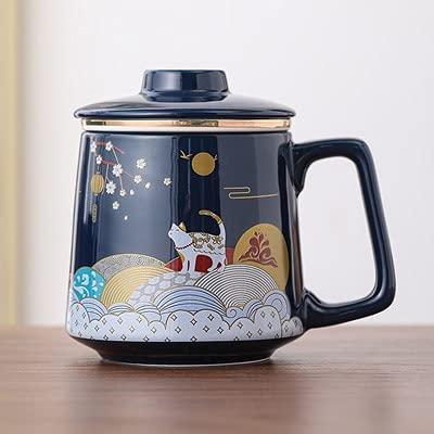 Taza de cerámica taza de agua taza de agua taza de café taza 400-500ML R