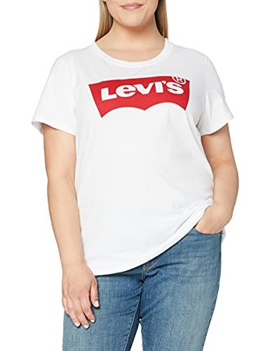 Levi's Plus Size Bobbi Tank Débardeur de sport, Blanc (Lila Mineral Black/White+ 0002), 2XL