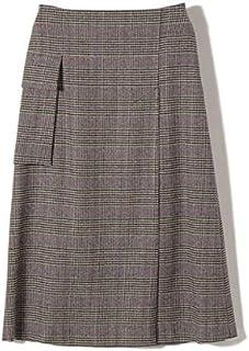 シップス(レディース)(SHIPS for women) PrimaryNavyLabel:ウールグレンチェックスカート
