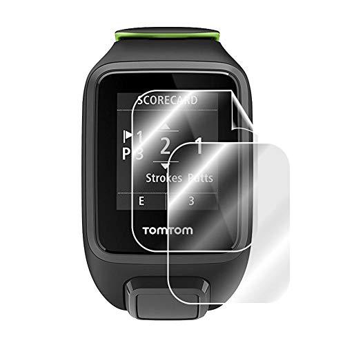 Protector de pantalla para reloj inteligente de TPU antiarañazos, película transparente de cobertura completa, para TomTom 2, 3 Runner 2, 3 Spark 3 GPS Watch