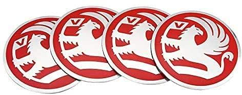 4 Cubiertas Centrales De Llanta para Opel Vauxhall Astra K Insignia Vectra Crossland Corsa 56MM, ProteccióN Con Logotipo Prueba Agua Polvo Con Buje Rueda Accesorios Partes