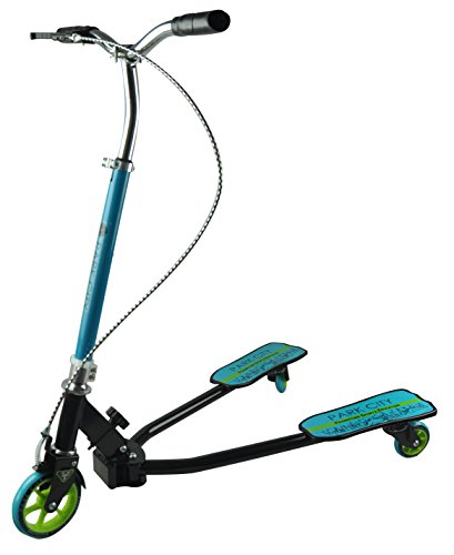 Park City Kids 'des Frosch Azul 3 Räder Push Scooter, blau, 100