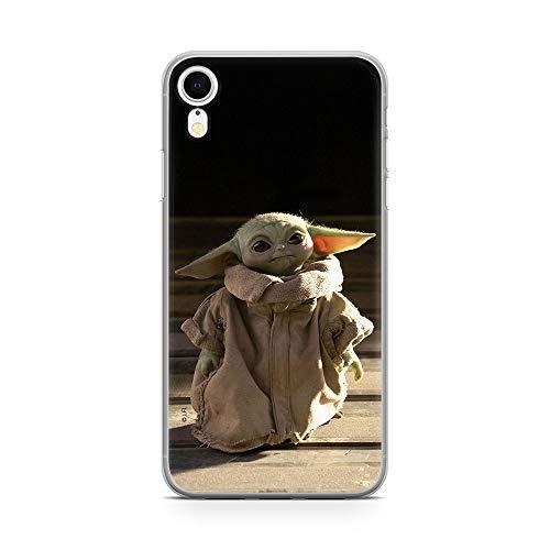 Original & Offiziell Lizenziertes Star Wars Baby Yoda Handyhülle für iPhone XR, Hülle, Hülle, Cover aus Kunststoff TPU-Silikon, schützt vor Stößen & Kratzern
