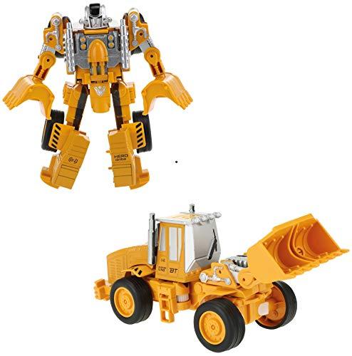Toi-Toys Transformación de vehículo robot 2 en 1, robot transformador, juguete