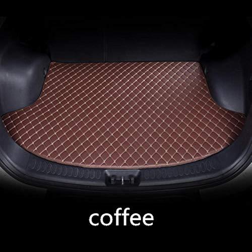 Hunulu Auto Kofferraummatten FüR Mercedes Benz C117 W211 W212 W176 W204 W205 CLA180 CLA200 Alle Auto Styling Liner, Kaffee