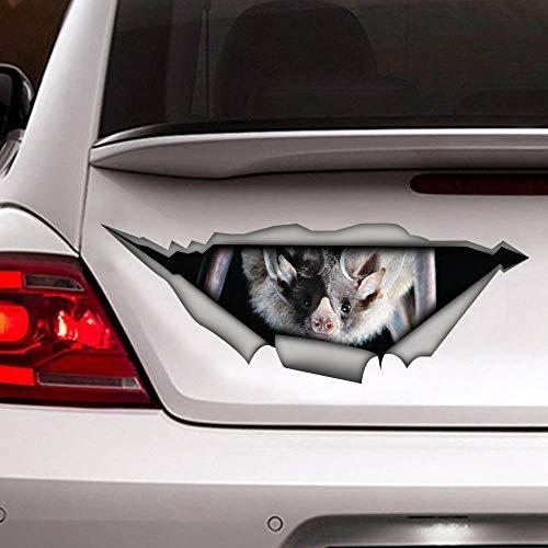 'N/A' 40 cm etiqueta engomada del coche del murciélago etiqueta engomada animal etiqueta engomada del coche