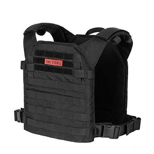 OneTigris Spartan Plate Carrier - Chaleco táctico protector de pecho para airsoft painball CS