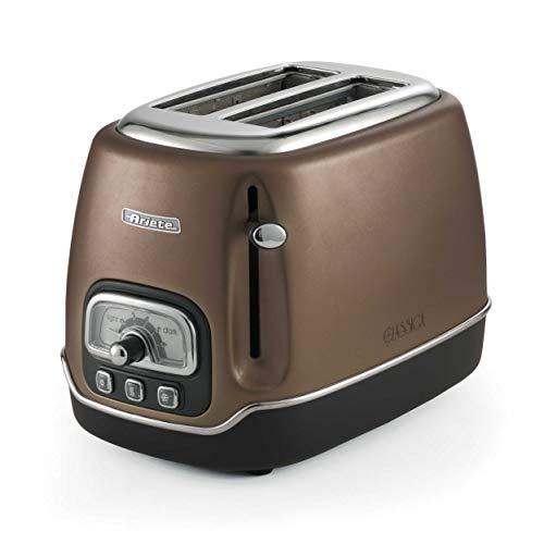 Ariete Classica Elektro-Toaster mit 2 Scheiben bronze