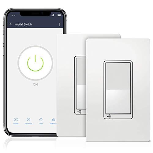 Topgreener Smart Wi-Fi Switch (2-pack)