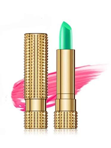 Lippenbalsam mit Colorchange Effekt aus 99% Aloe Vera, ersetzt den Lippenstift, handlich & wiederverschließbar für Arbeit und unterwegs