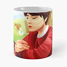 Kyuhyun Super Junior At Gwanghwamun Kpop Funny Christmas Day Mug Gifts Ideas For Mom - Great Ceramic Coffee Tea Cup