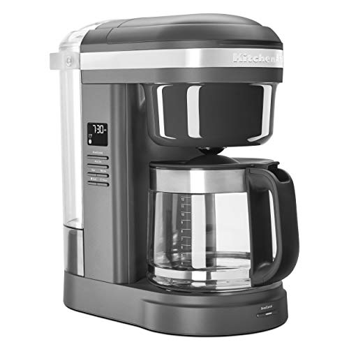 KitchenAid KCM1208DG Spiral Showerhead 12 Cup Drip Coffee...