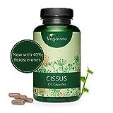 VEGAVERO® Cissus Quandrangularis 6500 | 100% Natural Extract | High dose | 6500 mg Cissus | Vegan - no Gelatine | Laboratory Tested | Without additives | 90 Capsules