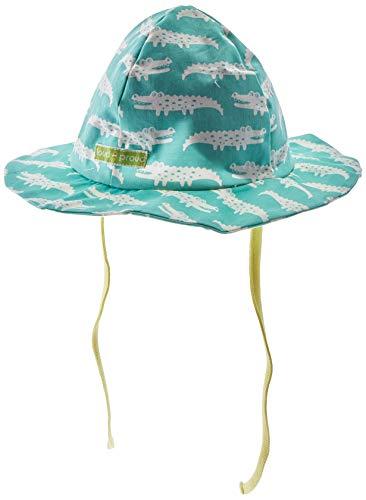 loud + proud Mädchen Hat with Print Organic Cotton Sonnenhut, Grün (Mint Min), (Herstellergröße: 62/68)