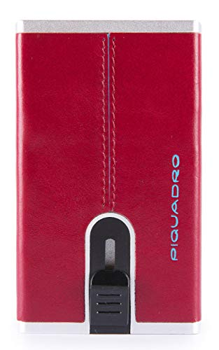 Compact Wallet Rosso Scuro