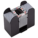 Best Card Shufflers - Casino Automatic Card Shuffler Battery Operated for Blackjack Review