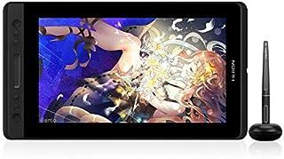 HUION 液タブKamvas Pro13 13.3インチ 傾き検知 充電不要 アンチグレアガラス フルラミネーションデイスプレ 8192レベル Adobe RGBカバー率92% スタンドなし 遠隔教育 遠隔授業 オンライン授業 ネット授業 W...