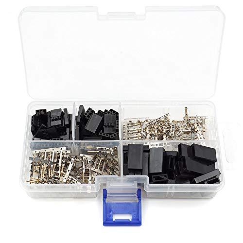 30 Sets Servo Plug Male Female Connector Crimp Pin Kit Compatible Futaba for Hitec Spektrum RC