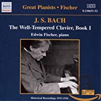 Great Pianists: Fischer The Well-Tempered Clavier, Book 1