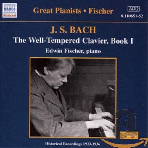 Great Pianists Edition - Edwin Fischer: Das Wohltemperierte Klavier, Teil 1 (Aufnahmen 1931 / 1944)