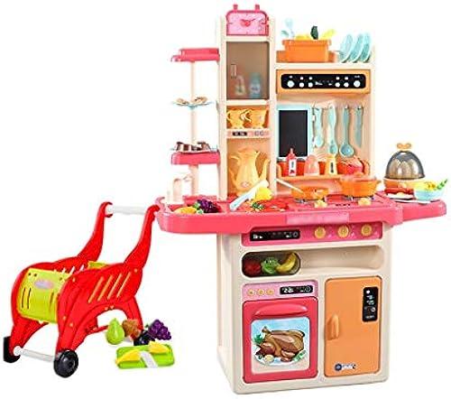 Spielzeugsets Küche Spielen Kochset Kinderküche Küchenspielsets Küche Spielset Spielzeug über 3 Jahre Alt Einkaufswagen Senden Geschenk Für Kinder Spielzeugsets