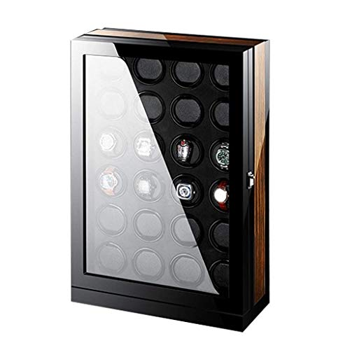 Sunmong Scatola Carica Orologi Automatica Calibro 24, Smart Touch con Interruttore in Senso orario o antiorario Movimento Silenzioso del Motore Si Adatta alla Maggior Parte delle scatole portaoggetti