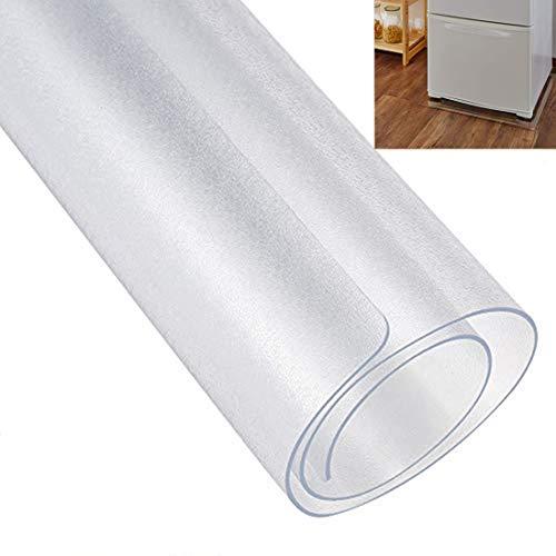AeiLa 冷蔵庫 マット キズ防止 凹み防止 床保護シート Sサイズ 53×62cm 〜200Lクラス 厚さ2mm 無色 透明 冷蔵庫 耐震マット 【国内正規一年保証】