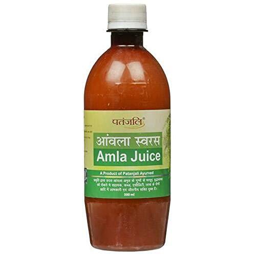 Patanjali Amla Juice Indian Gooseberry High Vitamin C Health 1000 ml