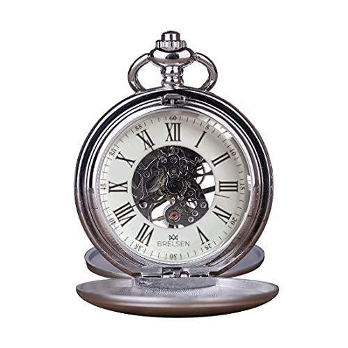 ロイヤルシルバー ダブルハンター 機械式懐中時計